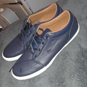 Brand New Lacoste Bayliss Vulc blue shoes